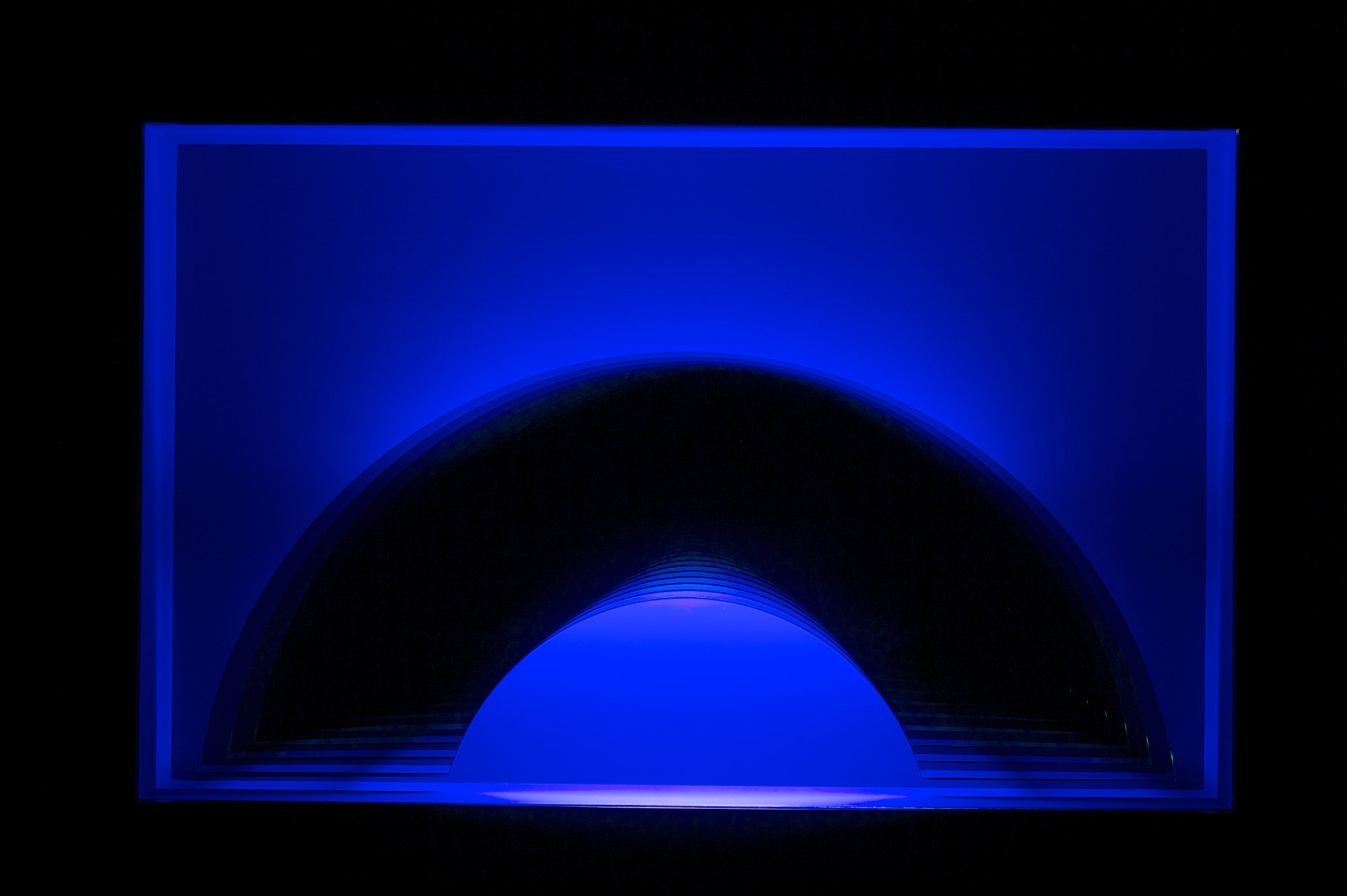 A Spatial Blue Arc