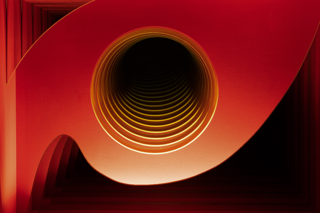 Red Whirl - Detail 1