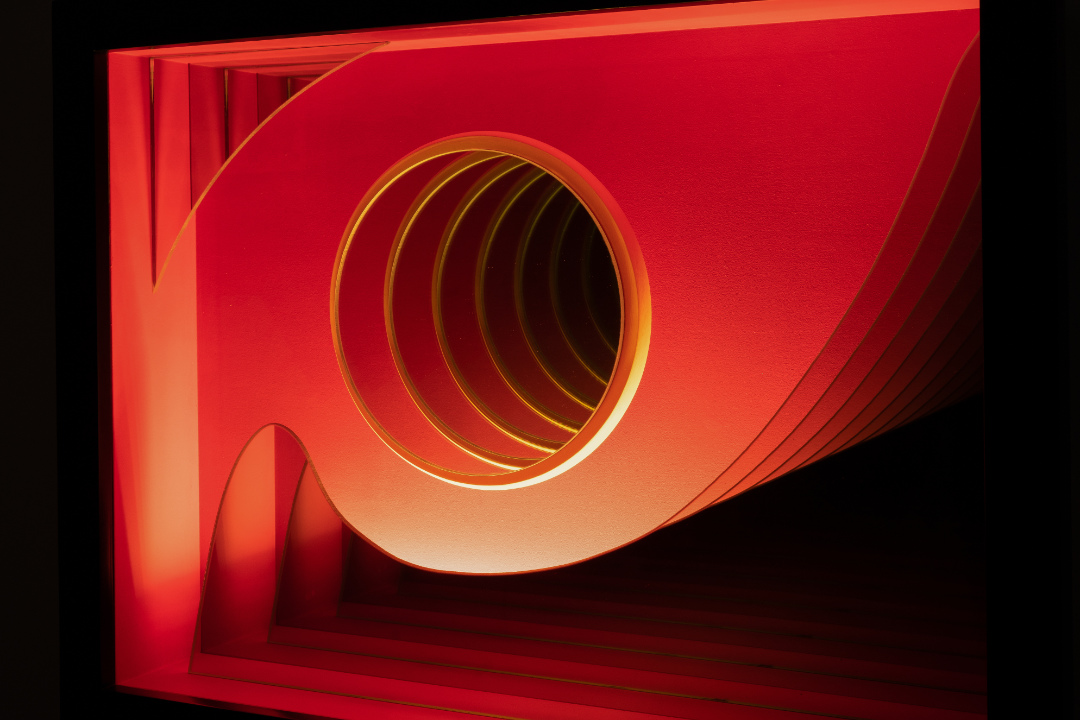 Red Whirl - Detail 2